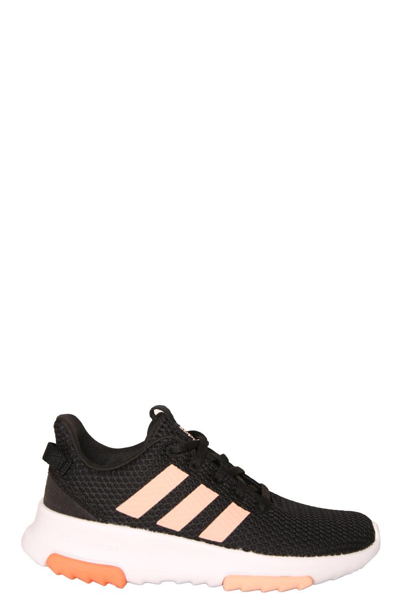 Adidas zwart met roze sneaker Loyal EE6953